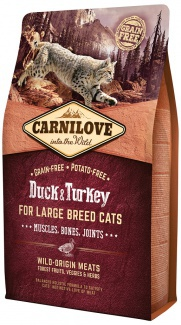 Vysoce kvalitní krmivo bez obilovin a brambor pro kočky